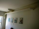 Basement bathroom fan