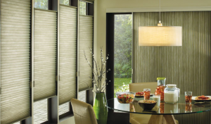 Cellular window treatments come in various styles and colors